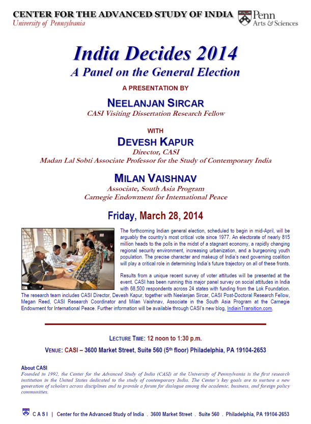 CASI election event