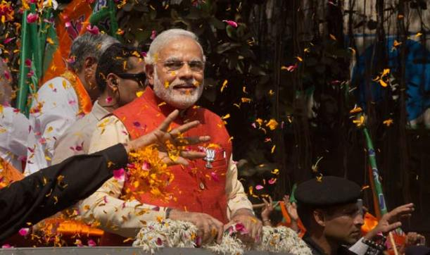 Narendra Modi will be sworn in as the new Prime Minister of India on May 26